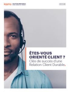 Livre Blanc : Êtes-vous orienté client ?