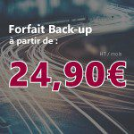 Offre 4G Forfait Back-up