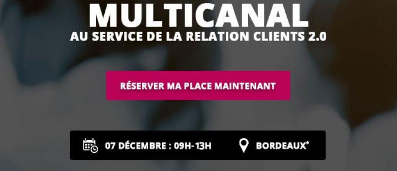 Matinée technologique Bordeaux : Centre de contact multicanal