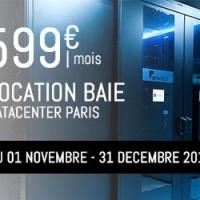 Location baie datacenter complète pour 599€/mois